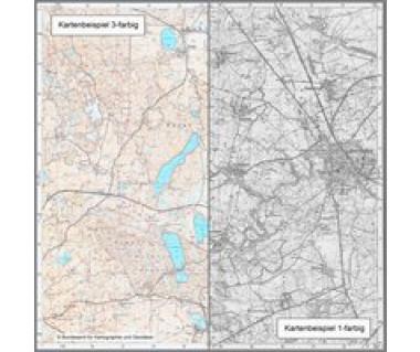 4955 Ostritz Topographische Karte 1:25.000