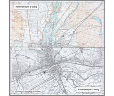 5055 Hirschfelde Topographische Karte 1:25.000