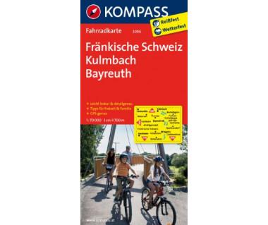 K 3096 Frankische Schweiz, Kulmbach, Bayreuth