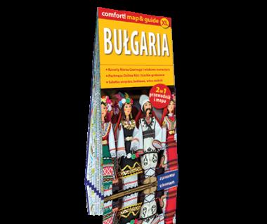 Bułgaria 2 w 1 (mapa+przewodnik)