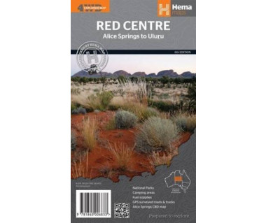 The Red Centre (Alice Springs to Uluru)