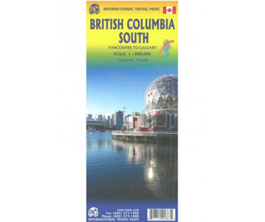 British Columbia South (Vancouver to Calgary)