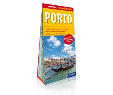 Porto mapa laminowana