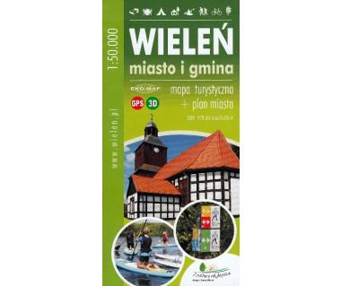 Wieleń (miasto i gmina) - mapa turystyczna + plan miasta