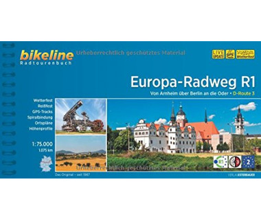 Europa Radweg R1. Von Arnheim über Berlin an die Oder. D-Route 3