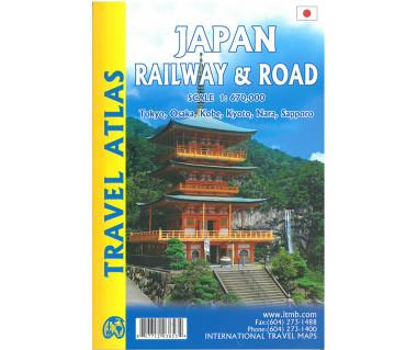 Japan Railway & Road Travel Atlas