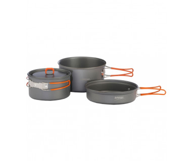 Zestaw naczyń alu Hard Anodised Adventure Cook Kit
