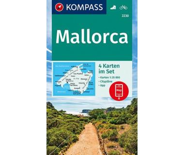 K 2230 Mallorca (kpl. 4 mapy)