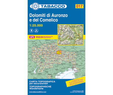 TAB017 Dolomiti di Auronzo e del Comelico