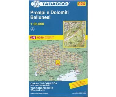 TAB024 Prealpi e Dolomiti Bellunesi