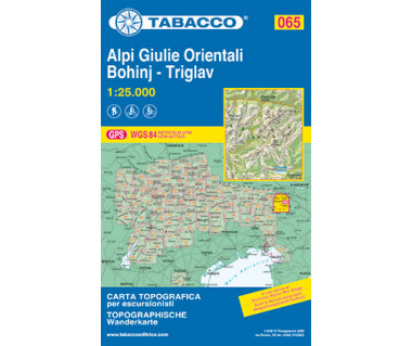 TAB065 Alpi Giulie Orientali/Julijske Alpe, Bohinj, Triglav