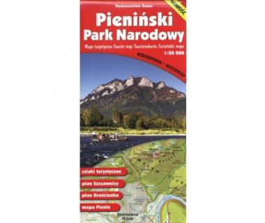 Pieniński Park Narodowy mapa foliowana