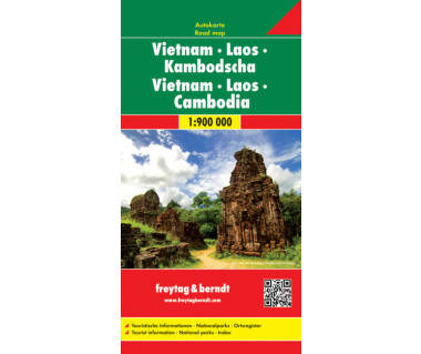 Vietnam, Laos, Kambodscha