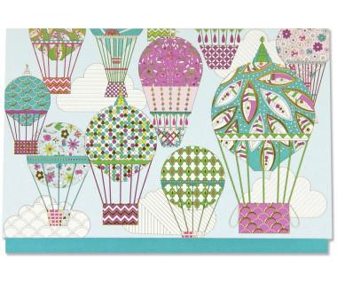 Kartka mini Balloons