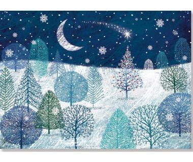 Kartka świąteczna A Midnight Clear