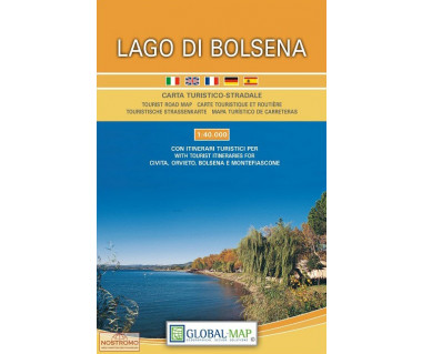 Lago di Bolsena - Mapa