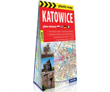 Katowice plan foliowany