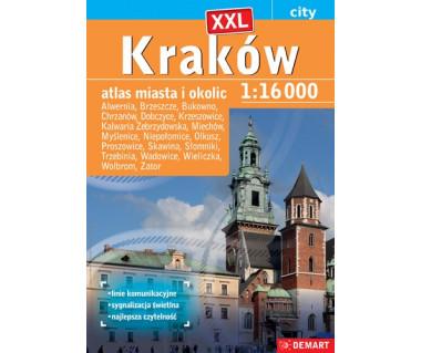 Kraków (+19) atlas XXL