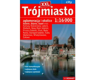 Trójmiasto (+14) atlas XXL