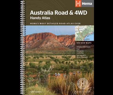 Australia Road & 4WD Handy Atlas