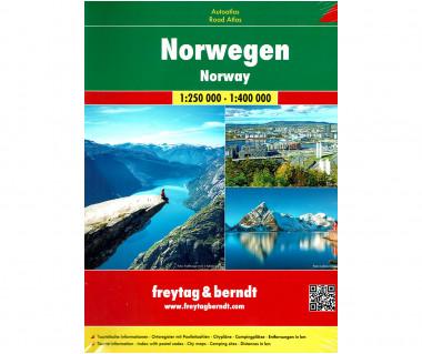 Norwegen Autoatlas