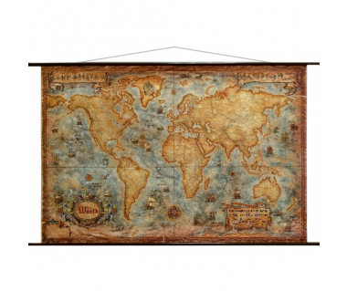 The world antique map (z węzłami)