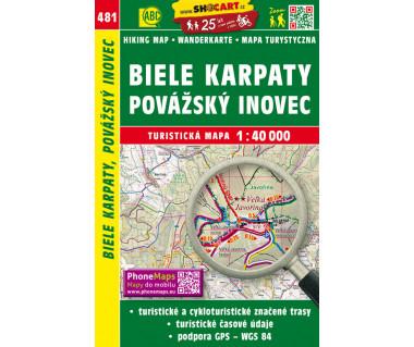 CT40 481 Biele Karpaty, Povazsky Inovec