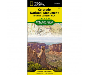 Colorado National Monument. McInnis Canyons NCA