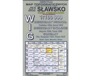 WIG 53/37 Sławsko (plansza) reedycja z 1937 r.