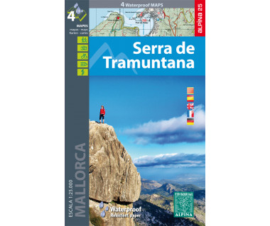 Serra de Tramuntana - Mallorca (4 maps)