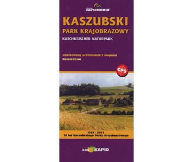 Kaszubski Park Krajobrazowy ilustrowany przewodnik z mapami