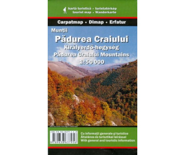 Muntii Padurea Craiului - Mapa turystyczna