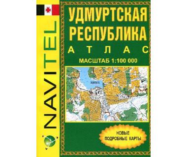 Republika Udmurcka atlas