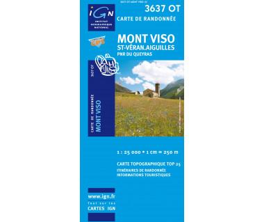 IGN 3637OT Mont Viso, St-Veran. Aiguilles