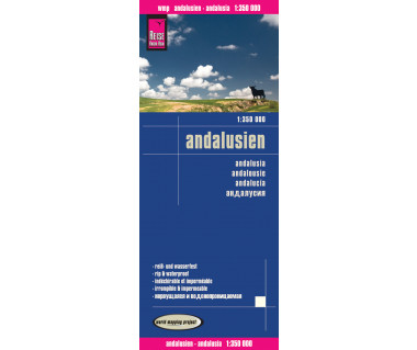 Andalusien - Mapa wodoodporna