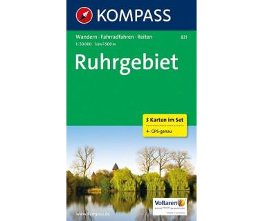 K 821 Ruhrgebiet (3 mapy kpl.)