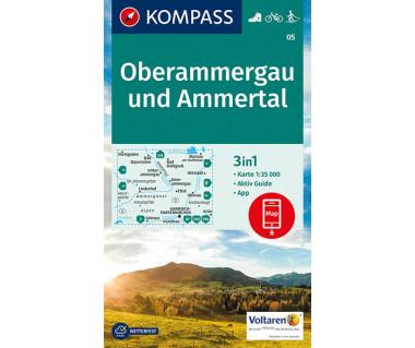K 05 Oberammergau und Ammertal