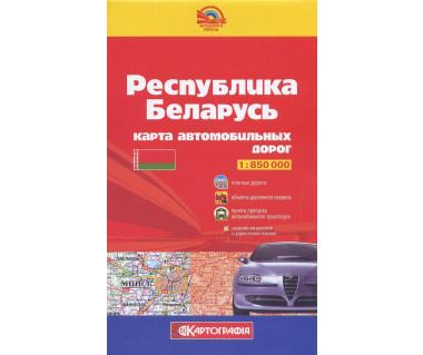 Republika Białoruś - Mapa