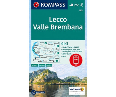 K 105 Lecco, Valle Brembana
