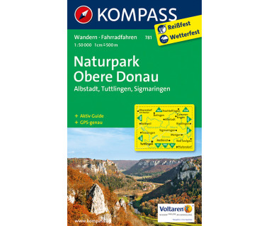 K 781 Naturpark Obere Donau, Albstadt, Tuttlingen, Sigmaringen