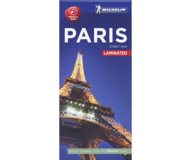 Paris - Street Map (laminated)