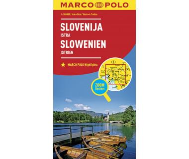 Slovenija/Slowenien - Mapa