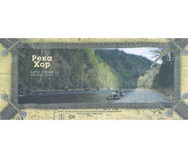 Rzeka Chor - Mapa