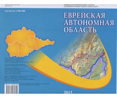 Żydowski Obwód Autonomiczny - Mapa