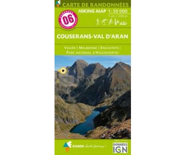 Pyrenees (6) Couserans - Val D'Aran: Valier / Muberme / Encantats /  Parc National d'Aiguestortes