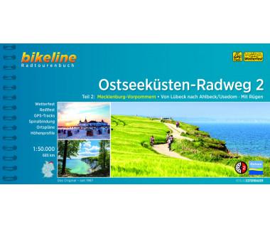 Ostseekusten-Radweg (2) Von Lubeck nach Ahlbeck Mit Rugen