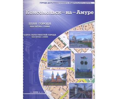 Komsomolsk nad Amurem atlas