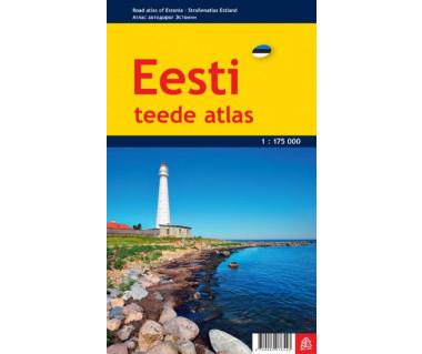 Eesti/Estonia road atlas