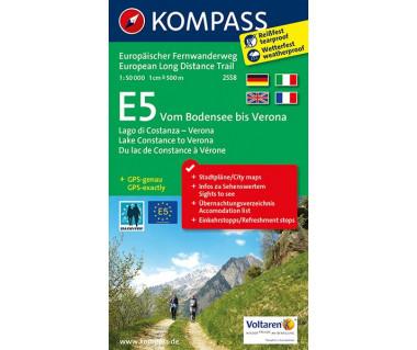 K 2558 E5 Vom Bodensee bis Verona