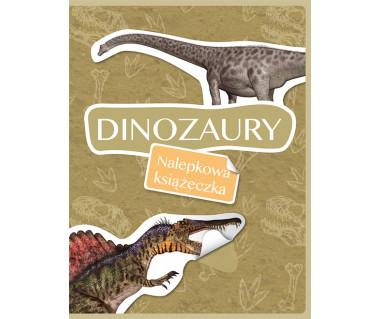 Dinozaury. Nalepkowa książeczka
